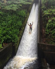 This hidden jungle waterslide in Hawaii is a must-visit travel destination.
