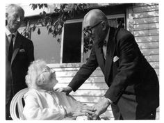 Le Corbusier With His Mother And Brother