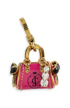 """Sorry to say, this really did catch my eye... uh oh!  Juicy Couture """"Daydreamer Handbag Charm"""""""