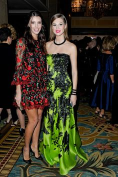 Kate King in Dolce&Gabbana SS15 and Anais Pouliot | CAFA Awards 2015: 35 glitzy pictures of Canada's fashion industry all dressed up