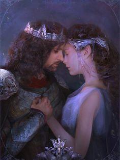 Arwen and AragornYou can find Middle earth and more on our website.Arwen and Aragorn Aragorn E Arwen, Legolas, Gandalf, The Hobbit Movies, O Hobbit, Arwen Undomiel, Lotr Elves, Desolation Of Smaug, Jrr Tolkien