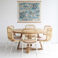 THE BEACH FURNITURE DINING TABLE $1599 DIAMETER: 1400 HEIGHT: 775 RECYCLED TEAK TIMBER