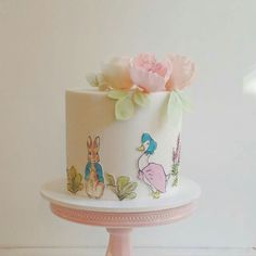 Beatrix Potter cake - For all your cake decorating supplies, please visit craftcompany.co.uk