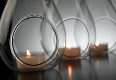 Water Drop Glass Hanging Candleholder Flat Bottom $5.79 each / 6 for $4.99 each