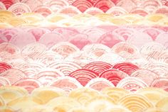 Itty Bitty in Pink from the Hello World Collection by Cori Dantini for Blend Fabrics - fabric by the yard
