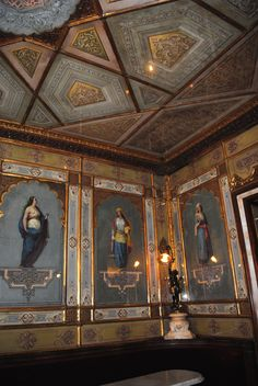 Interior of the Florian-Venice