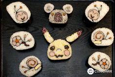 CREATIVE SUSHI ART ALMOST TOO BEAUTIFUL TO EAT