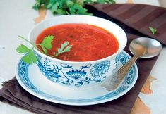 Crvena ljuta supa od paprike