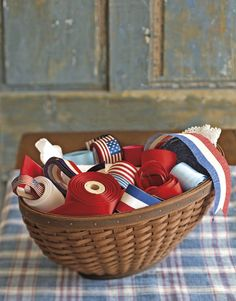I want to do this right now!! 4th of July Crafts - 4th of July Craft Ideas - Country Living @Country Living Magazine