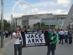 Jack Army Play off courtesy of Carl Bleakey