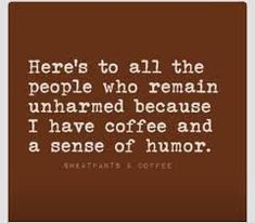 coffee and humor