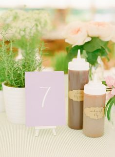 upscale bbq dinner table details by Ritzy Bee Events. Photography by: Abby Jiu #wedding #summerwedding