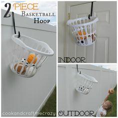 Cook and Craft Me Crazy: 2 Piece Basketball Hoop