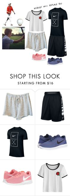 """""""Learning how to play golf with Niall❤"""" by no-jimmyprotested ❤ liked on Polyvore featuring Clu, NIKE and Halcyon Days"""