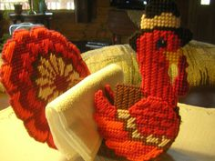 Turkey Napkin Holder by HolidayTimeDecor on Etsy, $8.75