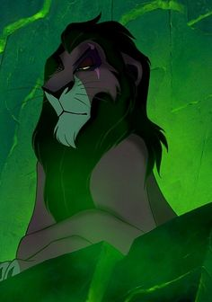 Scar, El rey leon 14. Favorite Villian - Scar. There's not one bad guy that was hated as much as this one. He's cruel, selfish, and a criminal mastermind. I find it funny that I didn't notice the movie's comparison of him and Hitler until I was older. Well played Disney, well played.