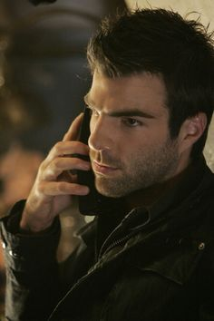 """Zachary Quinto!"" No, that's 100% Sylar. There's no Zach left in there."