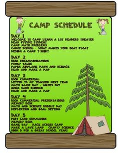 Camp Themed End of the Year Unit - Send your students off with a smile! This camp theme unit is the perfect way to end your school year with a week of learning fun! $
