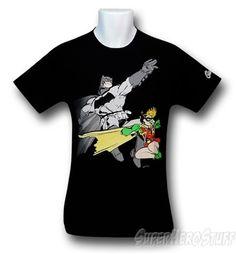 Images of Batman Dark Knight Returns Leap T-Shirt