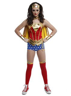 Wonder Woman Costume Pieces Hot Topic