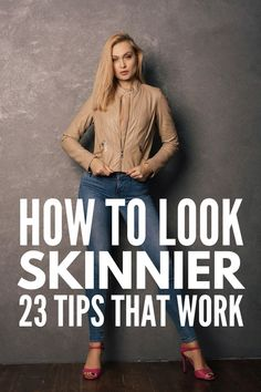 Dress To Look Thinner: 23 Slimming Fashion Tips That Work! How to Dress to Look Thinner: 23 Slimming Fashion Tips That Work! Fashion fashion tipsHow to Dress to Look Thinner: 23 Slimming Fashion Tips That Work! Fashion fashion tips How To Look Skinnier, Look Thinner, Paraître Plus Mince, Plus Sise, Leggings Mode, Tops For Leggings, Look Casual, How To Pose, Looks Style