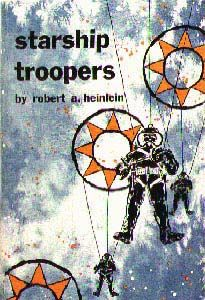 Starship Troopers by Robert A. One of NPR's Top 100 Science-Fiction & Fantasy Books - How many have you read? Starship Troopers Book, Best Book Covers, Album Covers, Sci Fi Novels, Future Soldier, Album Book, Fantasy Books, Suits, So Little Time