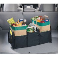 We love grocery bag holders!  They are convenient and can be flattened and stowed away when not in use!