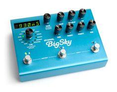 BigSky Reverb Pedal - Strymon Store