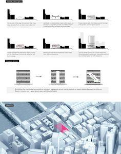 Graphic Illustration, Illustrations, Plate Presentation, Rubik's Cube, Architecture Graphics, High Rise Building, Master Plan, Urban Design, Bookmarks