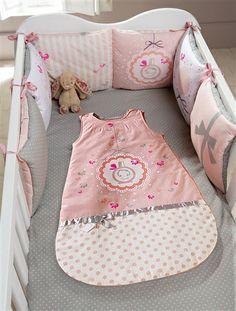 Tour de lit bébé modulable thème Ti-senbon ROSE - vertbaudet enfant