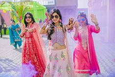Offbeat Mehendi Outfits Spotted On Real Brides Mehendi, Mehndi Outfit, Cape Dress, Peplum Blouse, Image Photography, Looking Gorgeous, New Trends, Color Combinations, Creative
