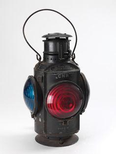 railroad lanterns   mounting bracket, railroad mark on frame, $200-$250. (Switch lamps ...
