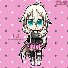 Vocaloid - I.A. by Akage-no-Hime.deviantart.com on @deviantART