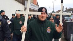 "Church leaders from across the U.K. have condemned a ""Christian values"" march in Bedfordshire town by a far-right group that handed out anti-Islamic pamphl"