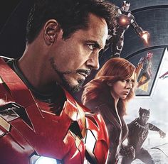 Iron Man, War Machine, Vision, Black Widow and Black Panther (Captain America: Civil War) - Visit to grab an amazing super hero shirt now on sale! Marvel Dc Comics, Marvel Heroes, Marvel Characters, Marvel Movies, Marvel Avengers, Comic Movies, Movie Wallpapers, Animes Wallpapers, Wallpaper Animes