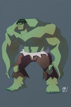 Hulk Animated  by *EricGuzman