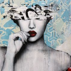 street art by HUSH - Google Search