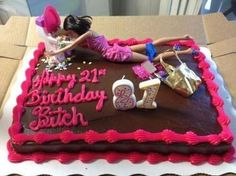 Perfect 21st Birfday Cake