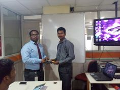 Well grooming student from 384 batch Mr. Hafeez, congrats Mr. Hafeez.