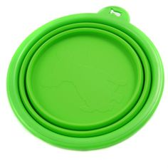 Pet by Petoga Couture - Ros Silicone Pet Expandable/Collapsible Travel Bowl - Size: 1.5 Cups