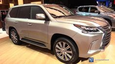 Cool Lexus: 2017 Lexus LX 570 - Exterior and  Interior Walkaround - 2017 Detroit Aut......  cars, automotive,auto show videos Check more at http://24car.top/2017/2017/04/29/lexus-2017-lexus-lx-570-exterior-and-interior-walkaround-2017-detroit-aut-cars-automotiveauto-show-videos/
