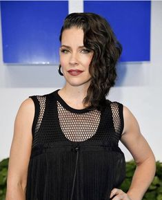 Evangeline Lilly attends the CTV Upfront 2019 at Sony Centre For. Evangeline Lilly, Tank Man, Lily, Glamour, Actresses, Stock Photos, Tank Tops, Pictures, Women