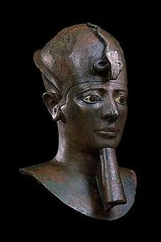 Bust of an anonymous king, 30th Dynasty -PELIZAEUS-MUSEUM