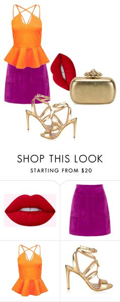 """""""Untitled #59"""" by catterinamartini on Polyvore featuring L.K.Bennett, Boohoo, MICHAEL Michael Kors and Alexander McQueen"""