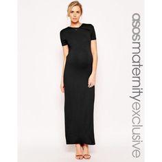 249639d1b2f7 New Asos Maternity Wrap Back Maxi Dress Vestiti Premaman