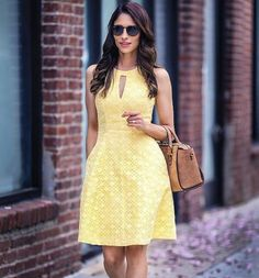 It's always sunny in our lacy halter dress, worn brilliantly by Trendy Dresses, Simple Dresses, Cute Dresses, Beautiful Dresses, Casual Dresses, Short Dresses, Summer Dresses, Dress Outfits, Fashion Dresses