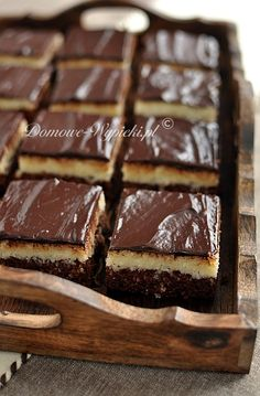 Ciasto Bounty Sweets, Snacks, Chocolate, Layer Cakes, Guilty Pleasure, Recipes, Food, Kitchens, Appetizers