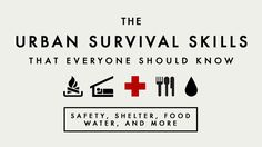 MacGyver, Survivalist, or Stockpiler: The Urban Survival Skills Everyone Should Know.  In moderation, not bankruptcy hoarding alternate militia against the government forming doomsday extremist.  You give a bad name to being prepared.