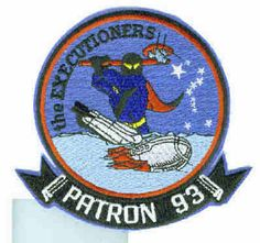 VP-93 EXECUTIONERS NAVY LOCKHEED P-3 ORION PATROL SQUADRON PATCH