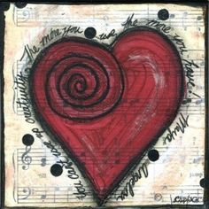Creative Heart - You can't use up creativity. The more you use, the more you have. - Maya Angelou